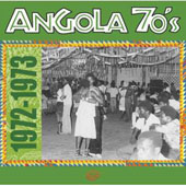 CD - Angola 70's (1972-1973), par Collectif