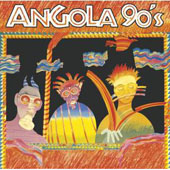 CD - Angola 90's, par Collectif