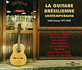 La guitare brésilienne contemporaine (livret + 2cd), par Collectif